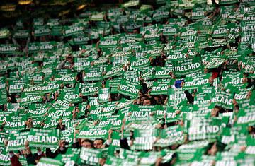 Ireland fans can be a demanding bunch!